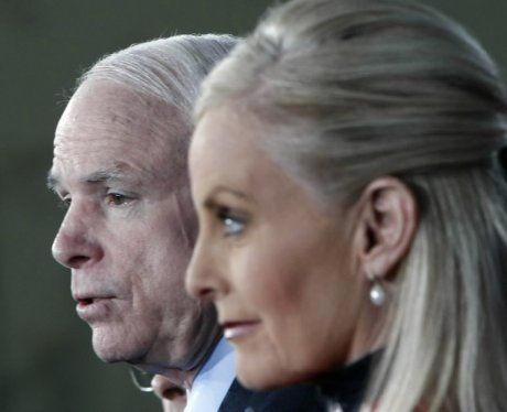 Meghan mccain honors late father on first election day without him